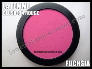 LA FEMME Blush-On Rouge - Fuchsia