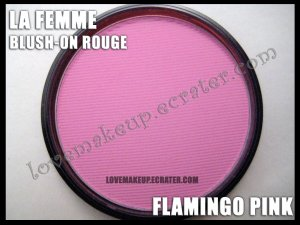 LA FEMME Blush-On Rouge - Flamingo Pink