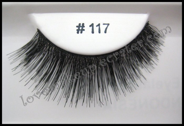 FALSE EYELASHES 117 [Comparable to MAC]