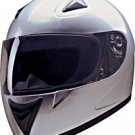 FULL FACE HELMET 75753 SILVER  -     L