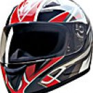 FULL FACE HELMET 75757 RED BLADE  -  XS