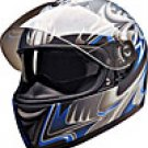 FULL FACE HELMET PC77773 MATT BLUE SHARK -  XS