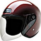 OPEN FACE HELMET 20210 WINE   -    M