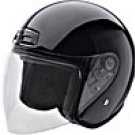 OPEN FACE HELMET 20200 BLACK   -    S