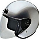 OPEN FACE HELMET 20230 SILVER  -   XL