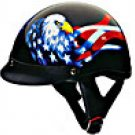 HALF HELMET 100130 DOUBLE EAGLE   -   XS