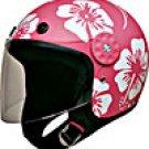 Helmet w/Redbud Flowers Pink/White 15112  -   XS