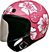 Helmet w/Redbud Flowers Pink/White 15112  -   XL
