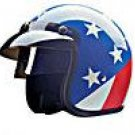 OPEN FACE CAPTAIN AMERICAN 10014   -   XS