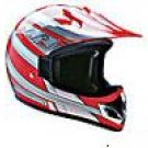 OFF ROAD HELMET A60606 RED KNIGHT - XS