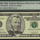 1996  $50 PMG 35   FR#2126-L*   Federal Reserve Note    AL01981064*