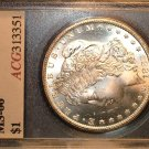 1882 CARSON CITY  MORGAN SILVER DOLLAR  MS66   agc  CERTIFIED