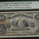 1935 $5the dominion bank  PMG 25 very nice