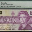 $1000 1988 BANK OF CANADA PMG 50 BC-61b !!!!!!!!