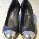 New Chanel Steel Toe Pumps--> Size 38