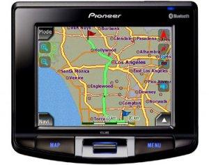 Pioneer Avics2 Portable Gps Navigation System-Free Shipping!!!