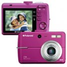 Polaroid i739m 7.0 megapixel Magenta Digital Camera-Free Shipping!!!