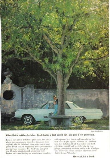 1964 Buick Lesabre advertisement
