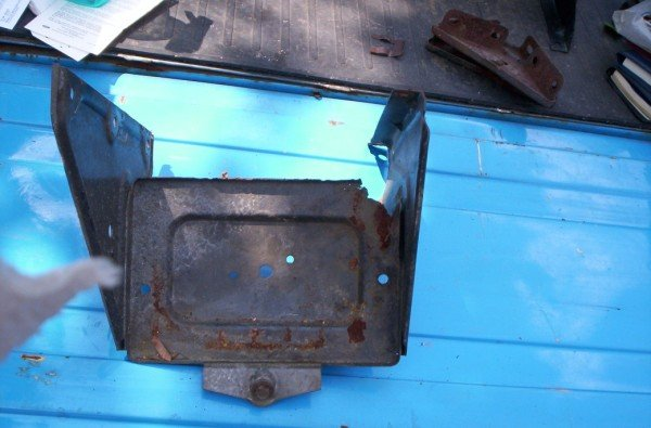 67 68 69 70 71 72 Chevy GMC pickup Blazer Jimmy original battery tray