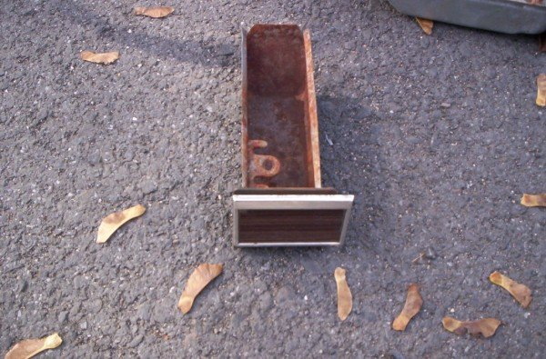 65 66 1965 1966 Chevy Impala Belair Biscayne Caprice wood grained ashtray