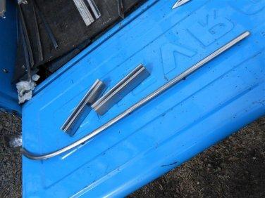 1958 Buick Special 4 door assorted exterior stainless moldings 6 pcs original GM
