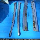 1965 1966 Cadillac Deville 2 door rear quarter window roof rail moldings GM