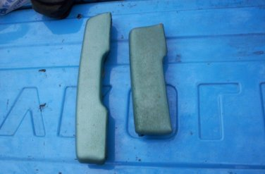 1965 1966 1967 1968 1969 Chevy Corvair Monza turquoise arm rest pads (2) GM