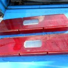 1973 1974 Ford LTD tail light lenses & center reflector 63K car NICE!!!