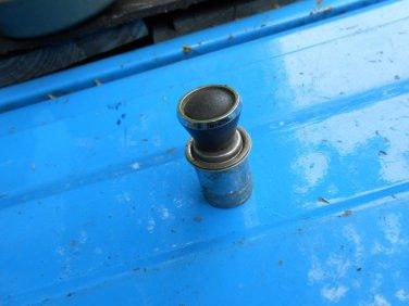 69 70 71 72 73 74? Lincoln Mark III IV cigarette lighter black w/chrome ring