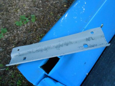 68 1968 Ford Falcon Ranchero front license plate bracket holder Fomoco
