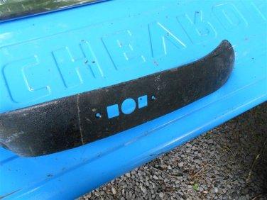 67 68 69 Cadillac Eldorado driver lower power seat  trim panel molding LH GM