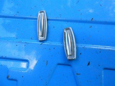 70 71 72 Chevelle Malibu Elky door panel medallion  emblems, pair original GM!