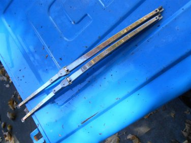 61 62 63 64 Chevy Impala Corvair Corvette TRICO wiper blade  holders 14.5 15 inch GM
