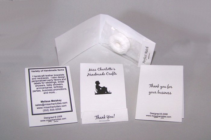 100 Customize Business Promo Mintbooks Mintbook Favors