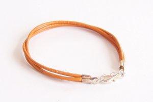 Marigold Surfer Style Leather Bracelet