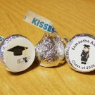 Personalized Graduation Party Hershey Kiss Favor Labels (324 cnt)