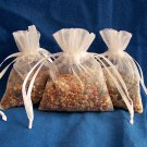 50 Wedding Birdseed Filled Organza Bag Throws