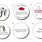 "1.67"" Personalized Bridal Shower or Wedding Reception Round Favor Labels (120 cnt)"