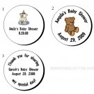 "1.2"" Personalized Baby Shower Round Favor Labels (192 cnt)"