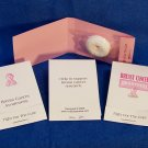 100 Customized Breast Cancer Awareness Mintbook Favors