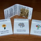 225 Personalized Wedding Wildflower Seed Packet Favors Style #2