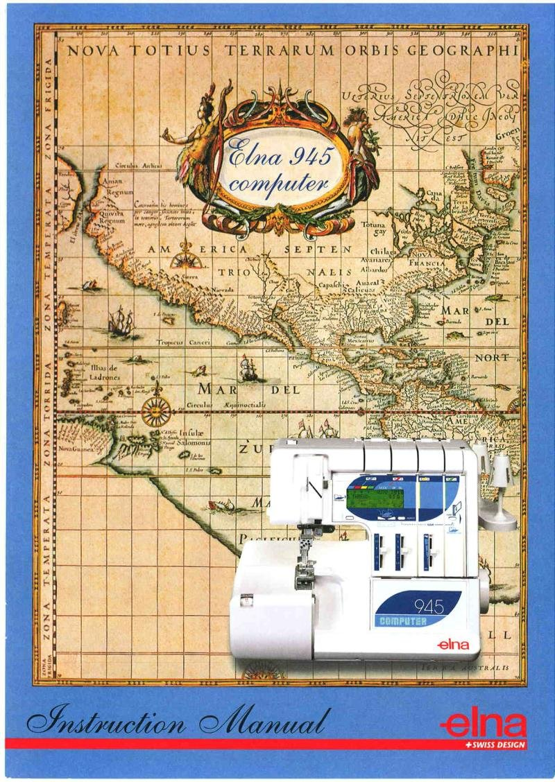 Elna 945 Overlock Sewing Machine Manual Pdf
