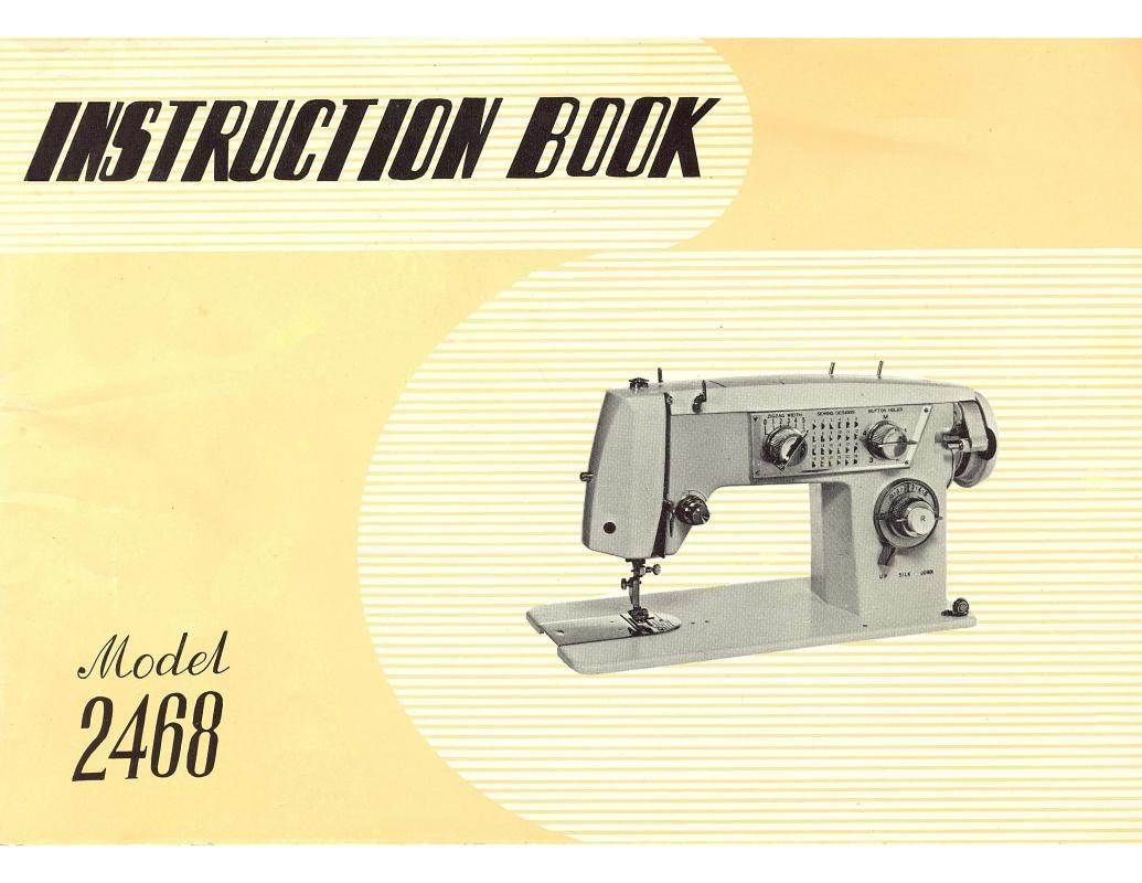 Elgin 2468 Sewing Machine Manual Pdf