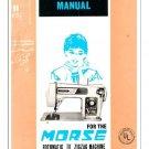 Morse 4300 Fotomatic III Sewing Machine Manual Pdf