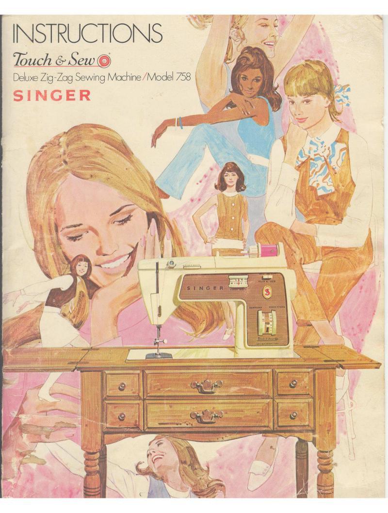 Singer 758 Sewing Machine Instruction Manual Pdf