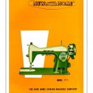 New Home Model 170 Sewing Machine Manual Pdf