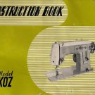 Koz Sewing Machine Instruction Manual Pdf