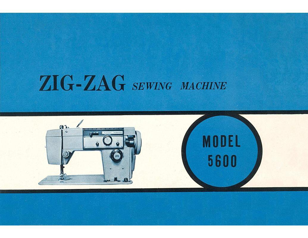 Stradivaro Model 5600 Sewing Machine Instruction Manual Pdf