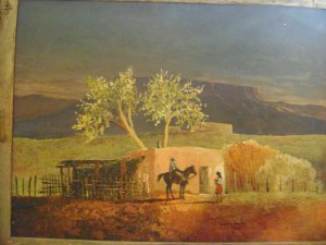 HOMEPAGE >Western and Southwestern Oil Paintings & Fine Art of