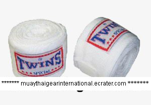 TW000 - Twins Special Hand Wraps (White)